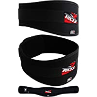 RDX Levantamiento de Peso neopreno Curved Gimnasio Cinturón Espalda Lumbar Apoyo Fitness ejercicio Bodybuilding