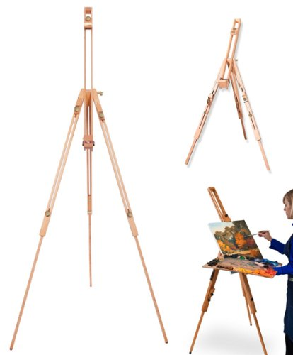 Amazon Com Portable Wooden Artist Easel With Carry Case