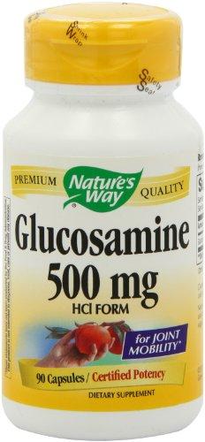 Путь Глюкозамин HCl, 500 мг, 90 капсул Природы