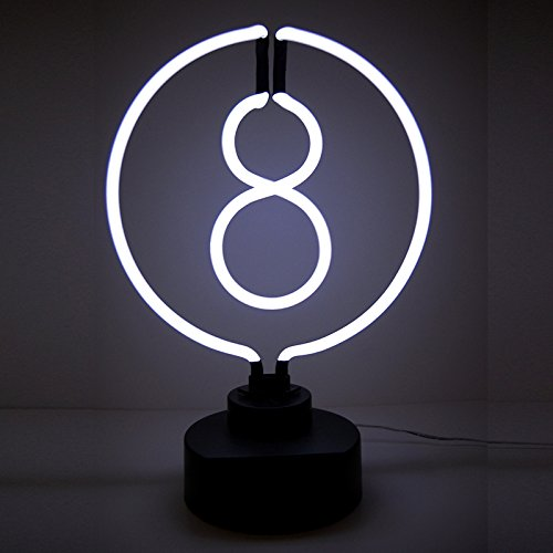 8 Ball Neon Clock - 8