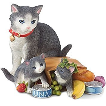 (Lenox Grocery Giddy Kitties Figurine 841539 - 5.25
