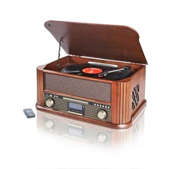 Nostalgie empotrada con DAB + Tocadiscos, CD, radio Encoding láser ...