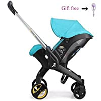 Fashion Travel System 3 in 1 (Cradle + Baby Stroller + Basket) , Lightweight ...