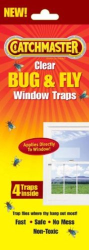 AP & G Inc Catchmaster 904 Clear Fly Window Traps 4 (Catchmaster Spider Traps)