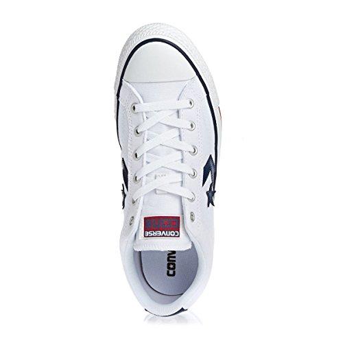 Star white Lifestyle navy 111 Unisex Adulto Ox white Blanco Zapatillas Converse Player q16g5OxO