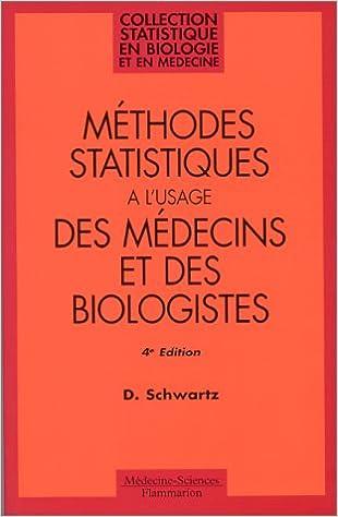 Méthodes statistiques l'usage
