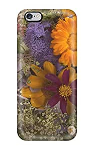 Fashion Tpu Case For Iphone 6 Plus- Flower Earth Nature Flower Defender Case Cover