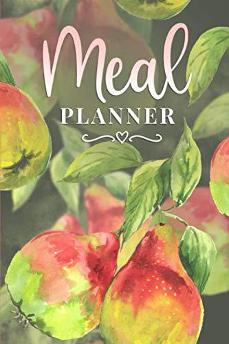Meal Planner: Weekly Meal Planner With Grocery List.  52 Week Meal Planner Organizer Makes Meal Planning Quick and Easy! (Two Meals A Day Breakfast And Dinner)