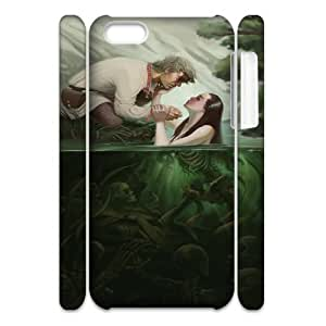 Iphone 5C Little mermaid 3D Art Print Design Phone Back Case Custom Hard Shell Protection MN099147