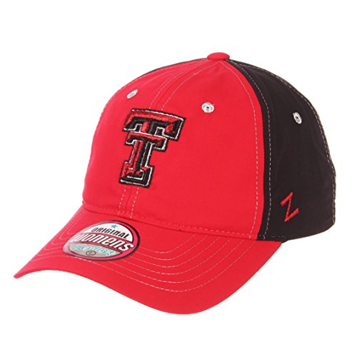 (NCAA Texas Tech Red Raiders Women's Feisty Performance Hat, Adjustable, Red)