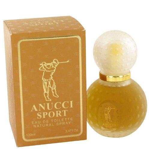 Anucci Sport by Anucci Eau De Toilette Spray 3.4 oz for Men - 100% Authentic