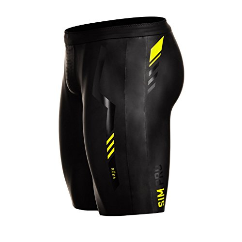 - ROKA Men's SIM Pro II Neoprene Buoyancy Shorts for Swimming Racing and Triathlon Medium