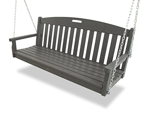 Trex Outdoor Furniture Yacht Club Swing in Stepping Stone