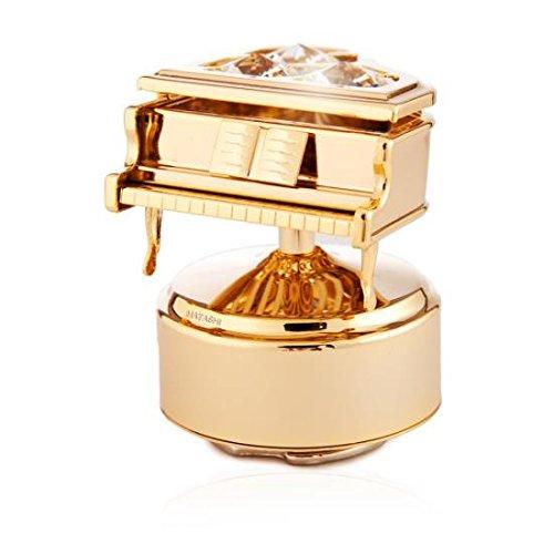 【2018最新作】 (Piano) - Grand Piano - 24k Gold Plated Crystal Rotating Rotating Grand Musical Figurine B00LKPEFHI Piano, プリンショップマーロウ:aeda9299 --- arcego.dominiotemporario.com