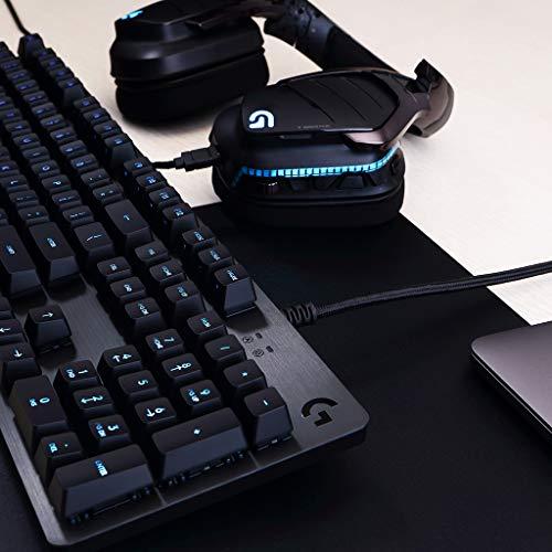 Logitech G513 RGB Backlit Mechanical Gaming Keyboard with