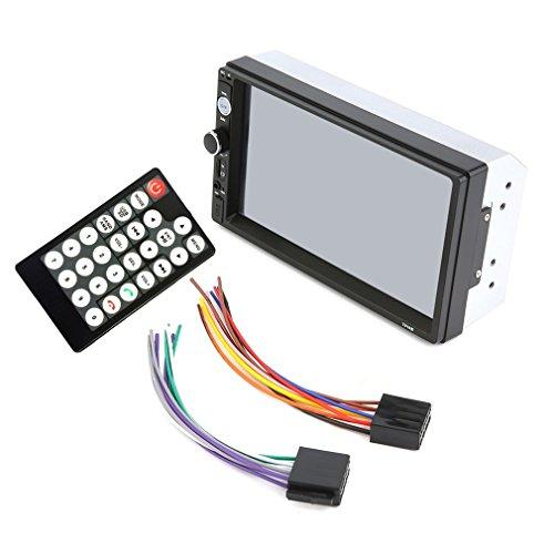TOOGOO X4 2 Din Car Radio Player 7 Inch Hd Multimedia Camera Universal Mp5 Mp4 Autoradio Bluetooth Audio Mirror Link Camera