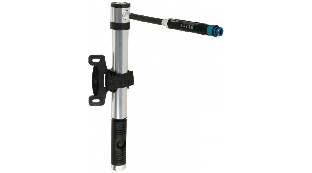 Portable Lightweight Bike Hand Pump for Presta and Schrader Valve High Volume//High Pressure Co2 Klic Hand Pump w//Gauge