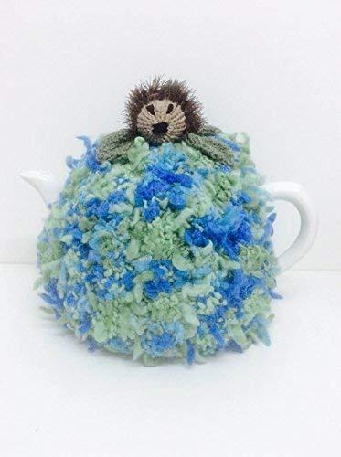 (Hand Knitted, Hedgehog Tea Cozy, Fits 4-6 Cup Tea Pot)