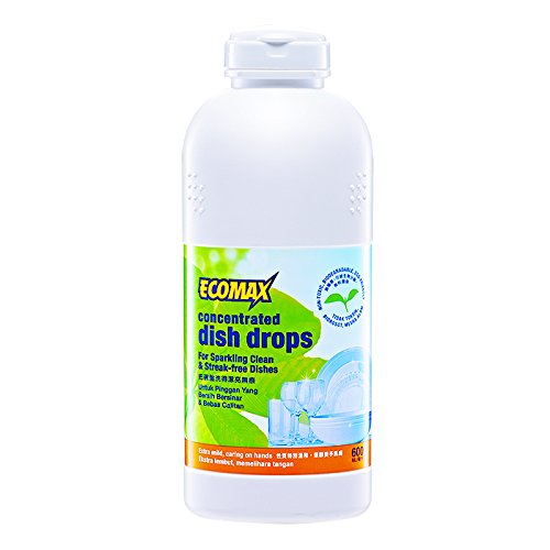 10 x Cosway Ecomax Concentrated Dish Drops ( 600ml ) by Cosway