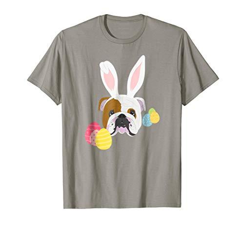 - Easter Bunny English Bulldog Shirt, Easter Dog Lover T-Shirt