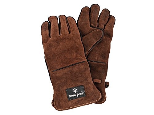 Snow Peak Fireside glove Brown UG-023BR