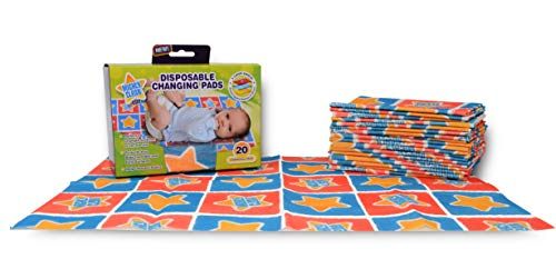 Mighty Clean Baby Disposable Changing Pad – 20 ct