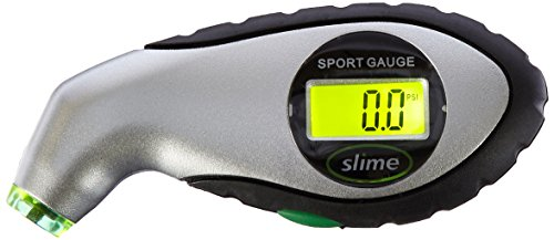 Slime 20017-4PK Digital Tire Gauge (5-150LB) by Slime