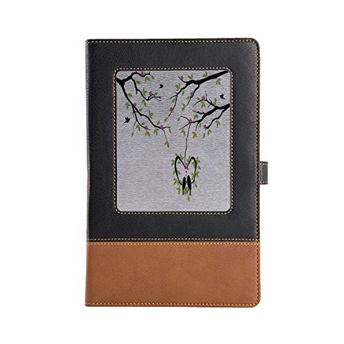 Distinctive Flying Birds Decor Signature Notebook Leather Notebook 8.6 6.1 Inches, A5 -  YOLIYANA, YO_09_Z328_05908