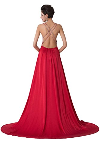 Missdressy - Vestido - Escotado por detrás - para mujer