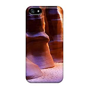 E-Lineage Case For Iphone 5/5s With Nice Cave Landscape Appearance