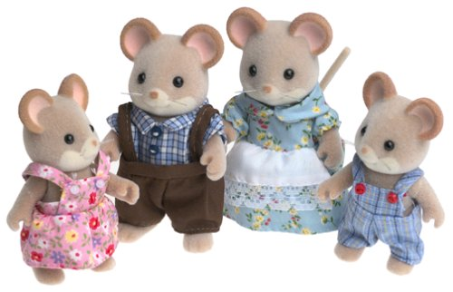 Calico Critters Norwood Mouse Family, Baby & Kids Zone