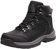 NORTIV 8 Men's Waterproof Hiking Boots Mid Ankle Hiker Mountaineering Trekking Backpacking B