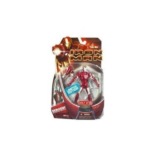 Iron Man Movie Toy Exclusive Action Figure Iron Man [Repulsor Red Prototype]