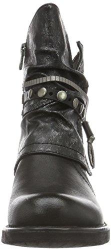 1695612 Motardes Noir Femme Bottes Tom Tailor black FqxPvn0w