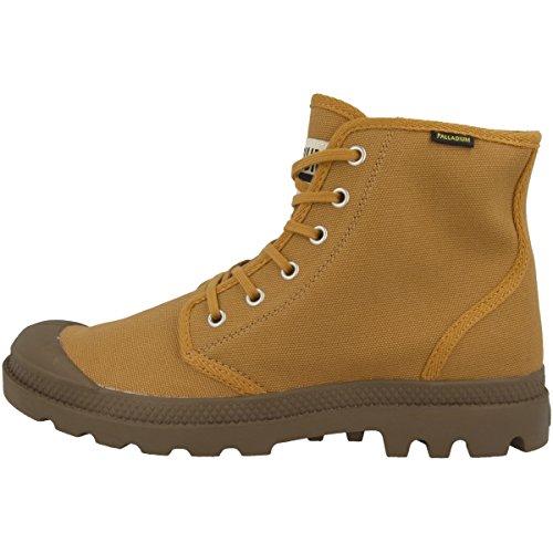 Adulte Bone Pampa Sneakers Hohe Originale Hi Brown Palladium Mixte Fx6nBxW