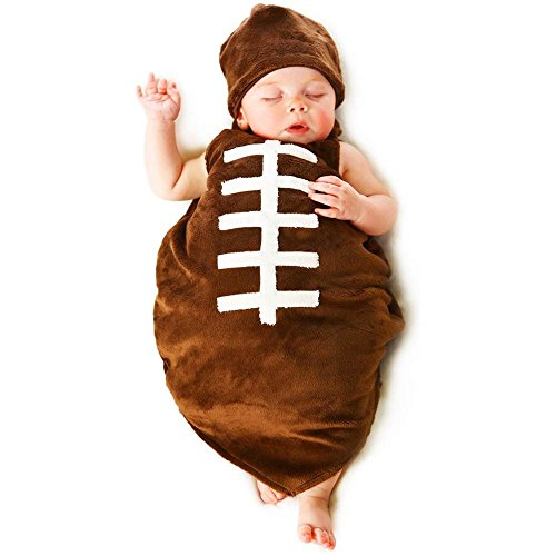 Baby Boy Football Costume (Finn the Football Baby Infant Costume - Newborn Small)