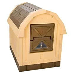 """Asl Solutions Deluxe Insulated Dog Palace (38.5"""" X 31.5"""" X 47.5"""")"""