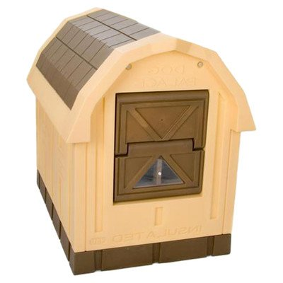 ASL Solutions Deluxe Insulated Dog Palace (38.5' x 31.5' x 47.5')