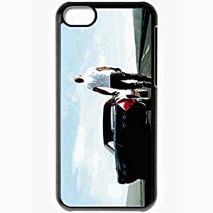 Personalized iPhone 5C Cell phone Case/Cover Skin Fast And The Furious 6 Movie 2013 Film Movies Movie Black