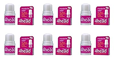(6 PACK) - 4Head 4Head Headache Treatment | 3.6.g | 6 PACK - SUPER SAVER - SAVE MONEY