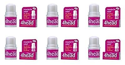 (6 PACK) - 4Head 4Head Headache Treatment | 3.6.g | 6 PACK - SUPER SAVER - SAVE MONEY