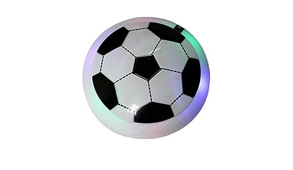 Air Hover Ball, Juguetes Formación Fútbol Interior con Luz LED y ...