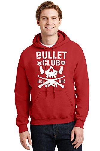 Bullet Club Hoodie Wrestling New Skull Cody Japan Sweatshirt