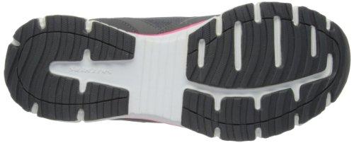 Agility de Rewind Mujer Deporte Gris Cchp para Exterior Skechers Zapatillas dqCd7