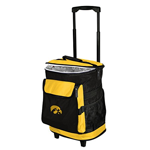 Iowa Hawkeyes Tailgate Cooler (Logo Brands 155-57 NCAA  Iowa Hawkeyes Rolling Cooler)