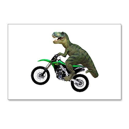 CafePress Dirt Bike Wheelie T Rex Postcards (Package of 8), 6