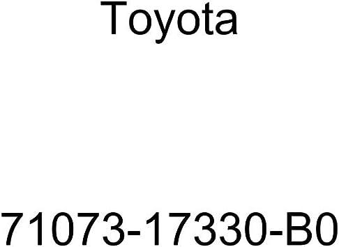 TOYOTA Genuine 71073-17330-B0 Seat Back Cover