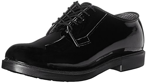 Bates Men's High Gloss Durashock Oxford-M, Black, 8.5 C US