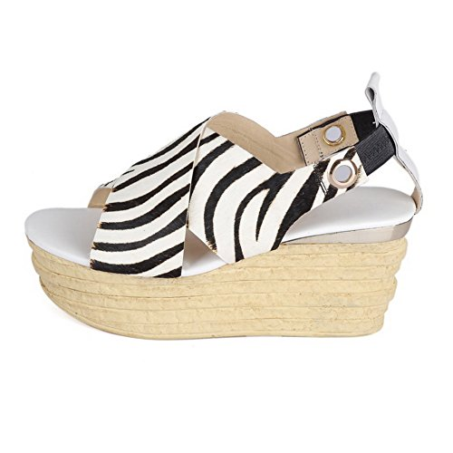 Open Toe AmoonyFashion Colors Pull on Womens Soft Assorted White Sandals Heels Material High BffAq5wEx