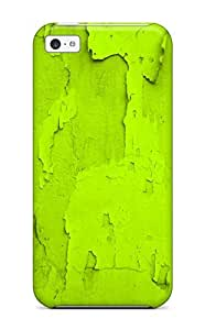BayyKck Case Cover Protector Specially Made For Iphone 5c Bright Green